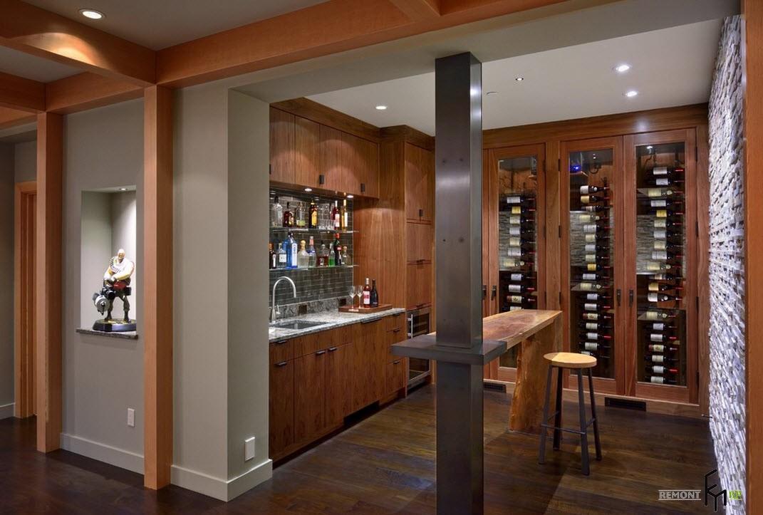 Шкаф для хранения вин