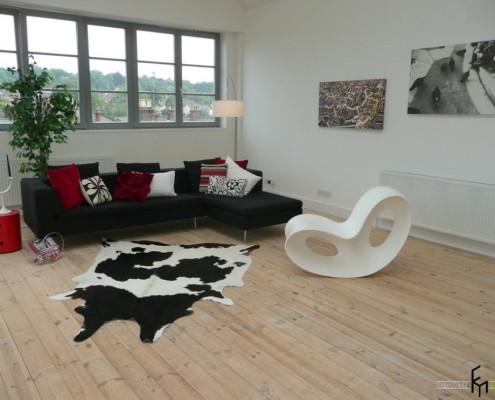 Модный коврик в гостиной