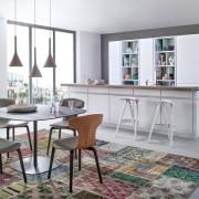 Смешение стилей в оформлении кухни