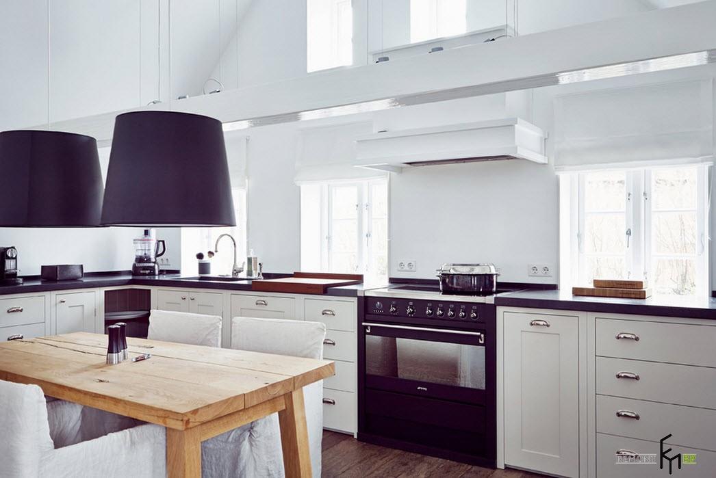 100 идеи дизайна кухни в загородном доме: дизайн проекты ремонта на фото