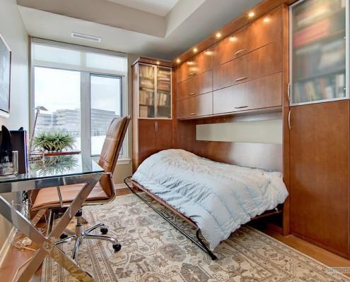 Встроенная кровать: 30 дизайнерских фото примеров в интерьере