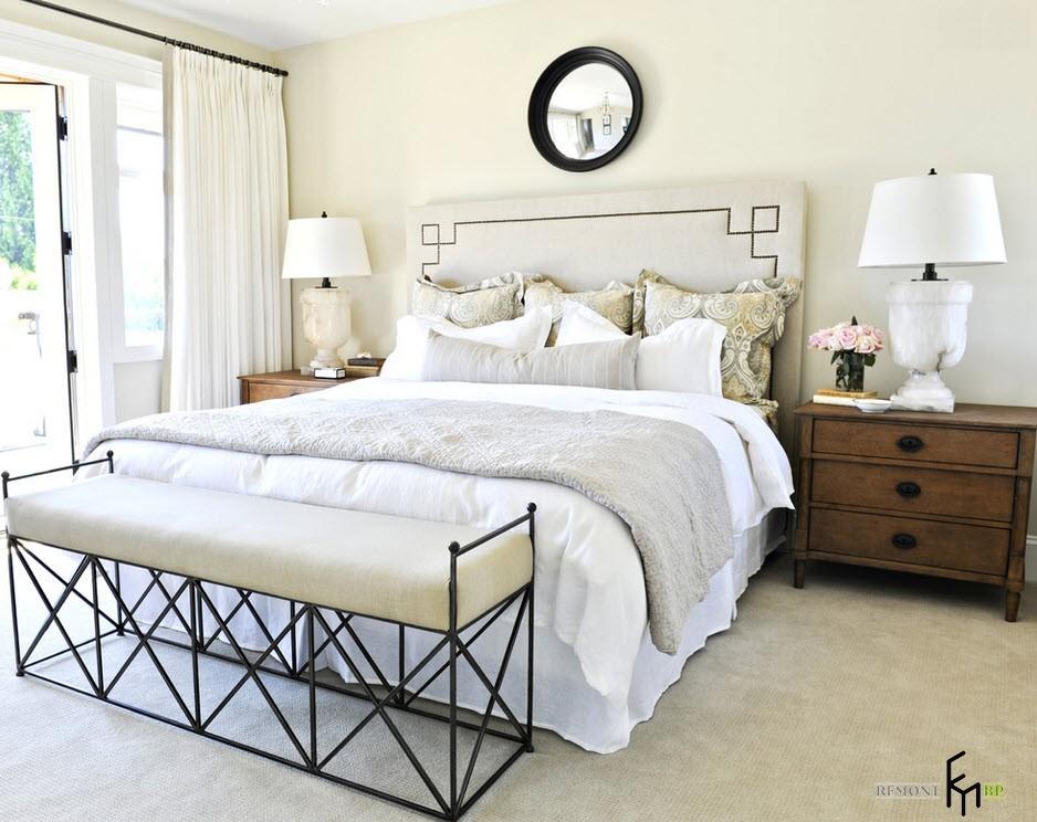 Прикроватная тумба в спальне