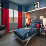 Фотообои в комнате подростка