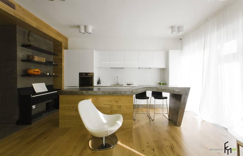 Пианино в кухне