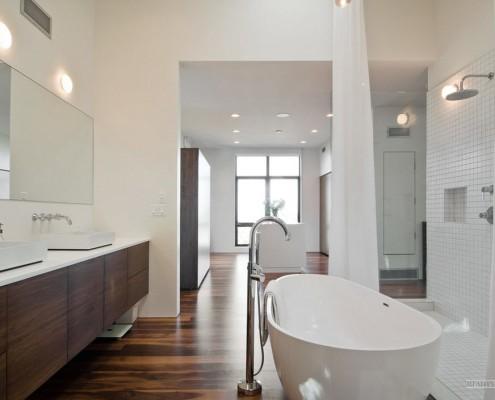 Шкафчики в ванной