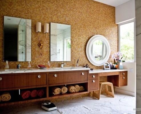 Кафельная плитка 2015: модные новинки керамической плитки на фото