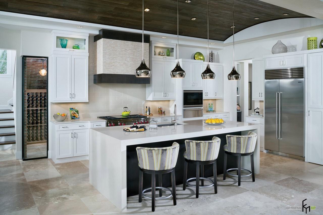 100 идей дизайна кухни: современная классика - дизайн проекты на фото
