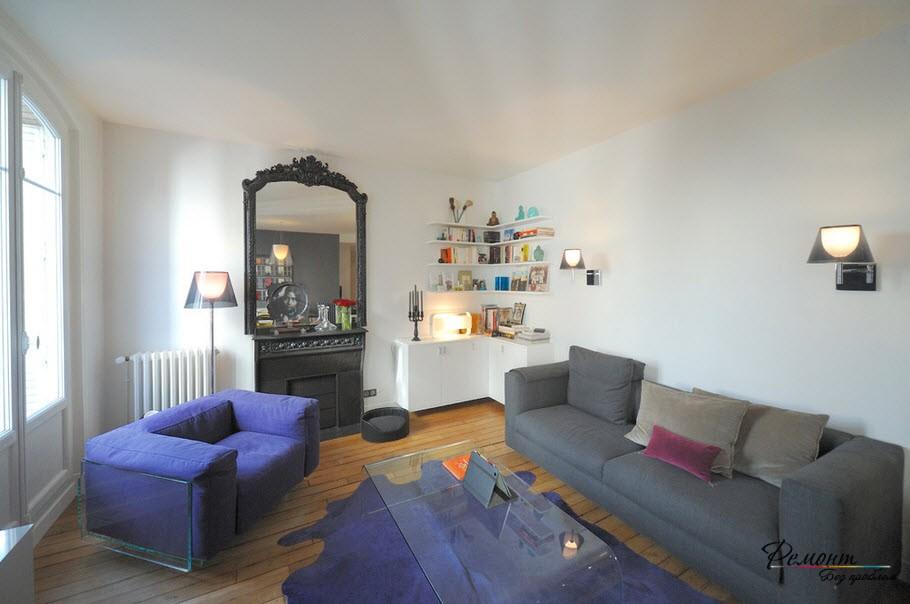Удачная расстановка мебели