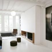 Белое оформление зала