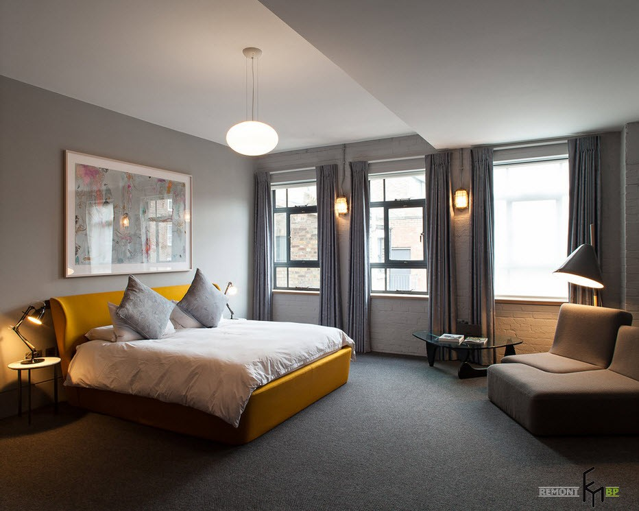 Уют современной спальни