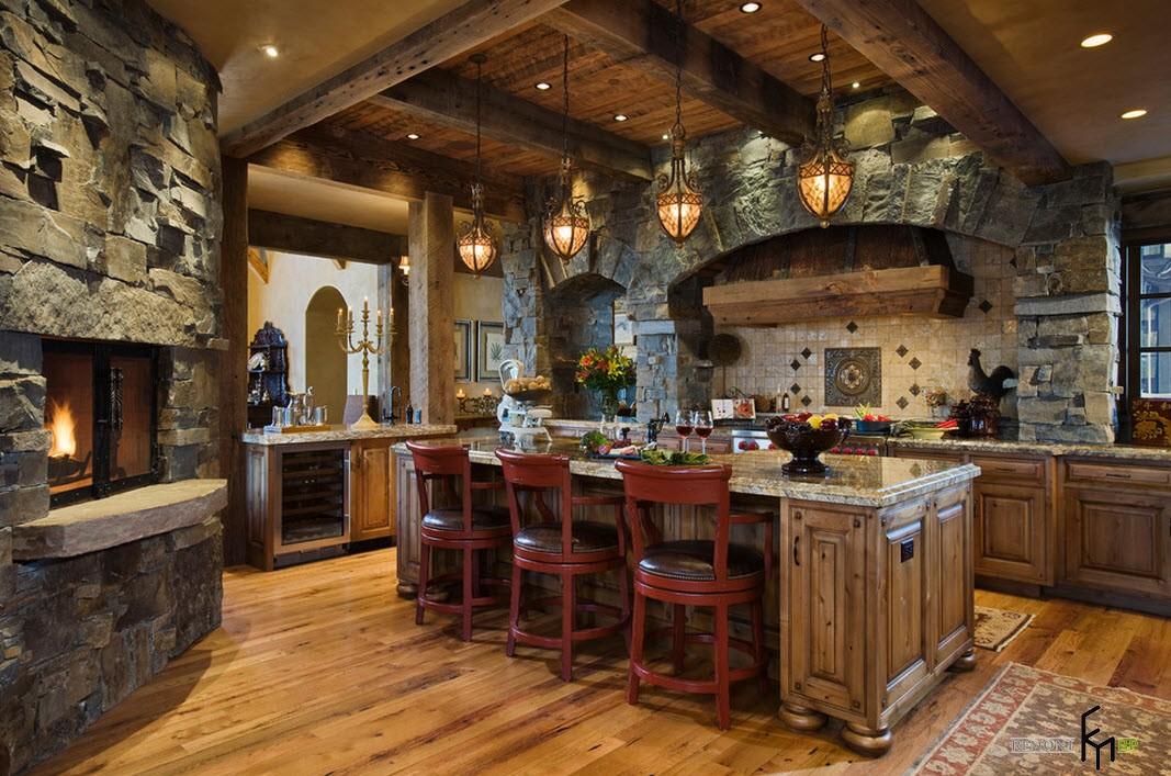 Роскошная кухня