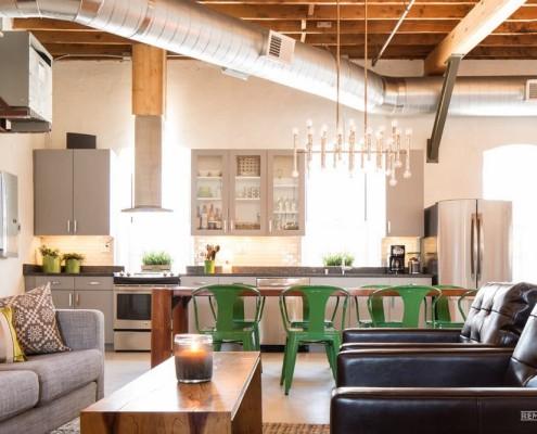 Оригинальная кухонная мебель