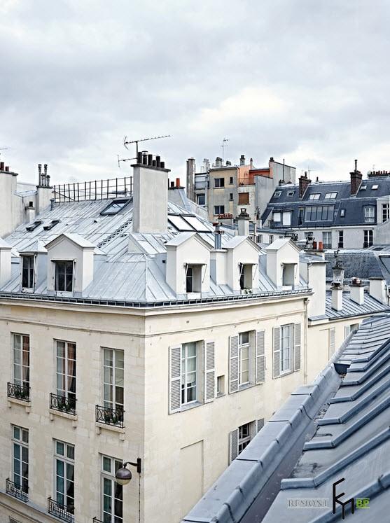 Старый парижский дом