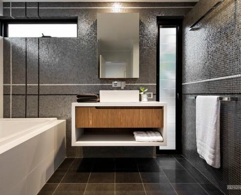 Модные ванные комнаты 2015 года: новинки дизайна на фото