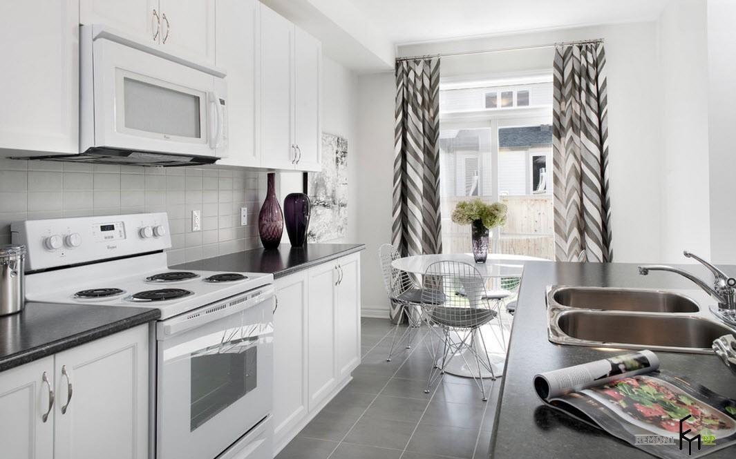Красивые и оригинальные занавески для кухни: оформление окон