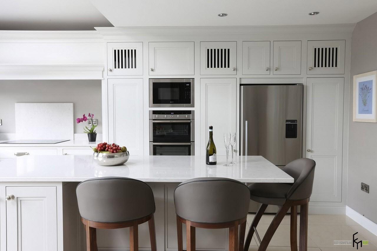 Кухня и гостиная дизайн фото