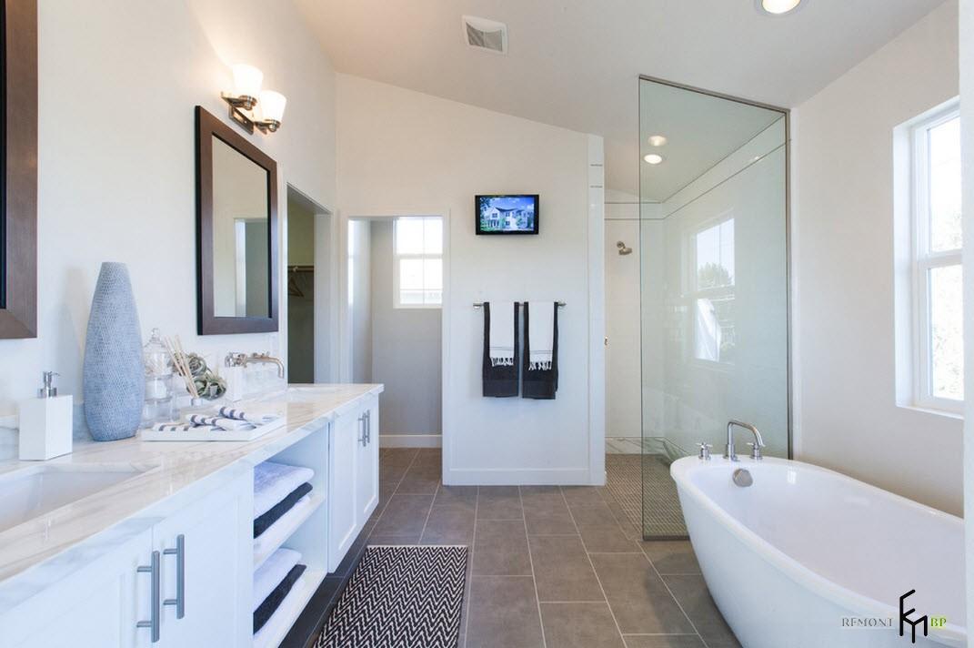 Загородная ванная