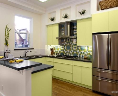 Выразительный кухонный фартук