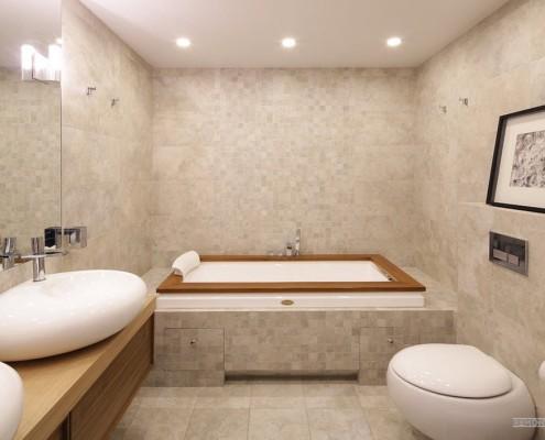 Картина в ванной комнате