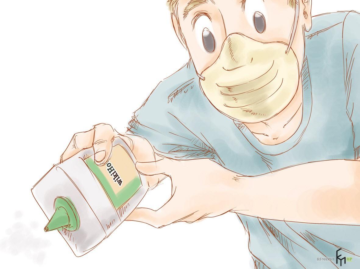 Защитите себя маской