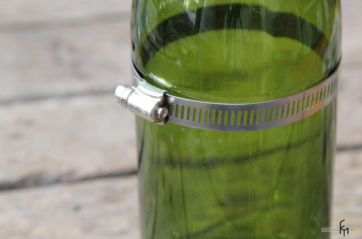 Как сделать колбу из бутылки