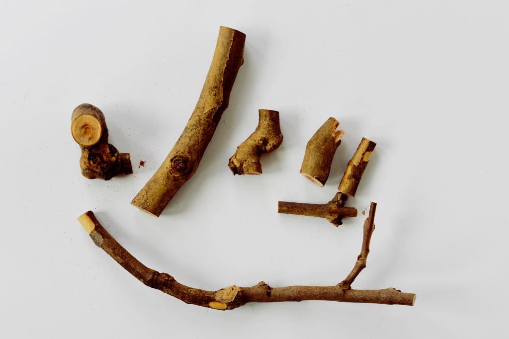 Деревянные детали для тыквы