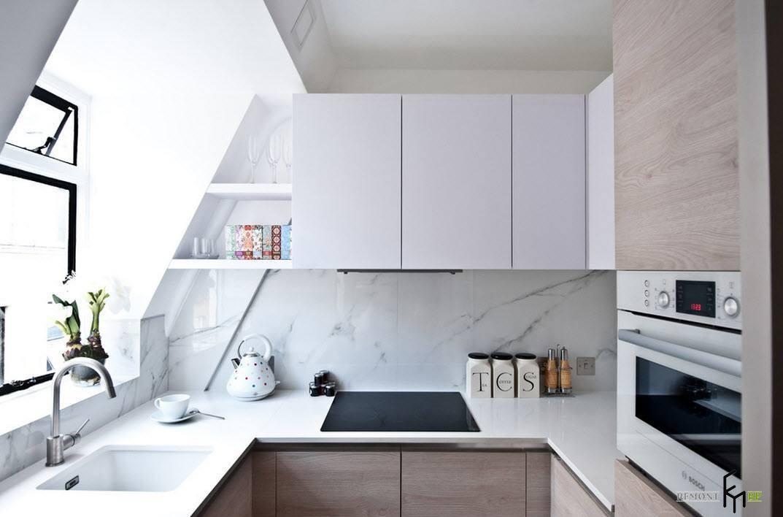 Светлая палитра кухни