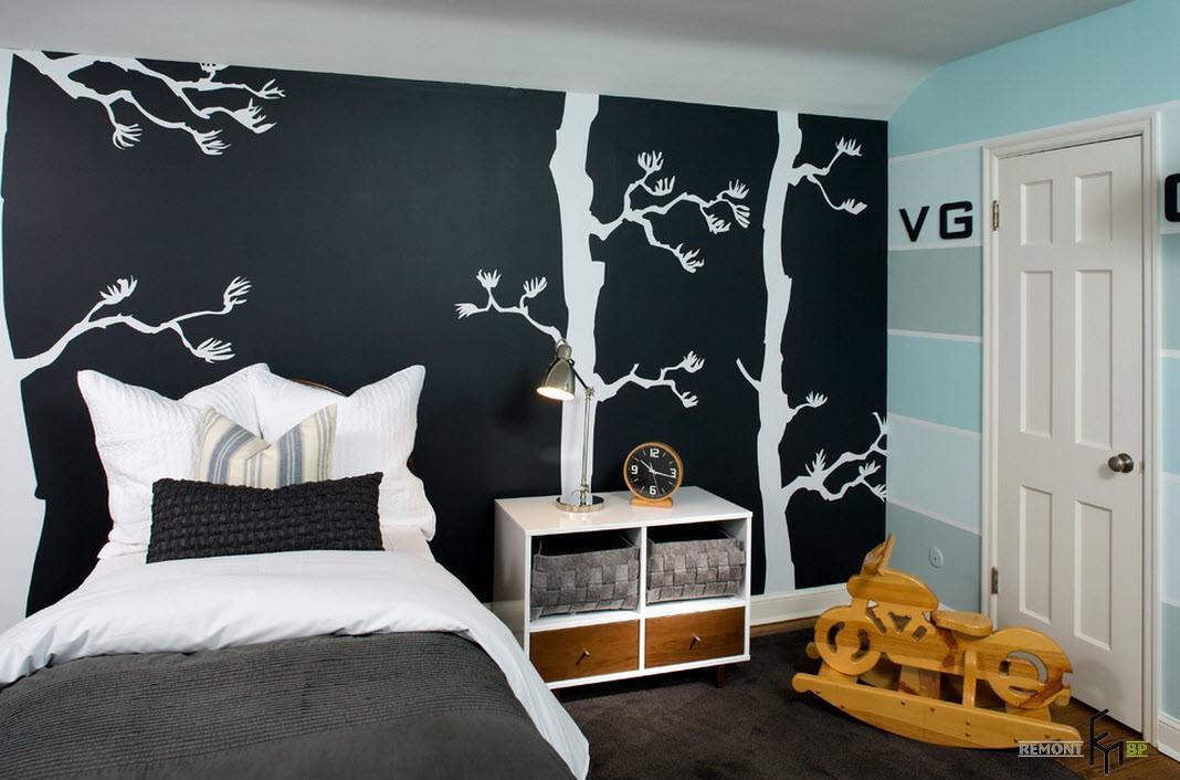 Детская комната для старшего дошкольного возраста