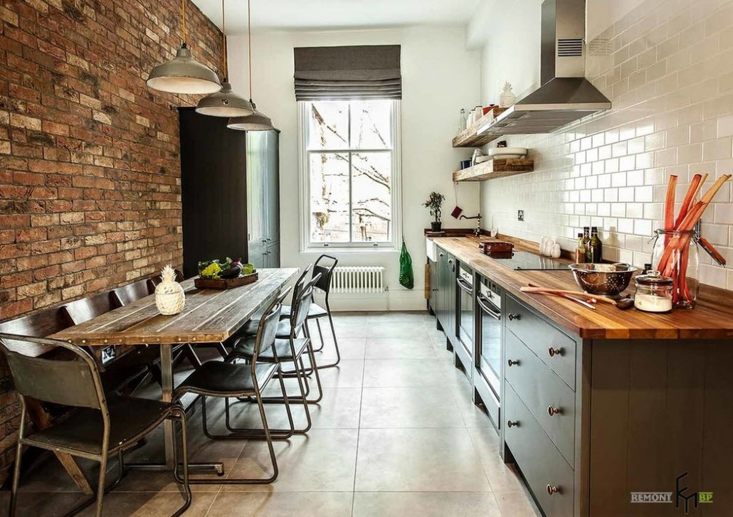 Кухни лофт дизайн