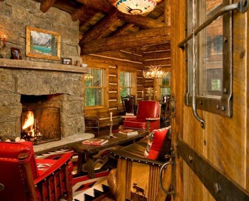 Охотничий дом: дизайн проект деревянного дома в лесу как Охотничий стиль своими руками фото