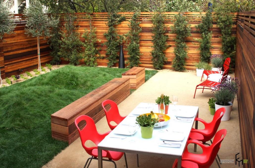 Как украсить задний двор