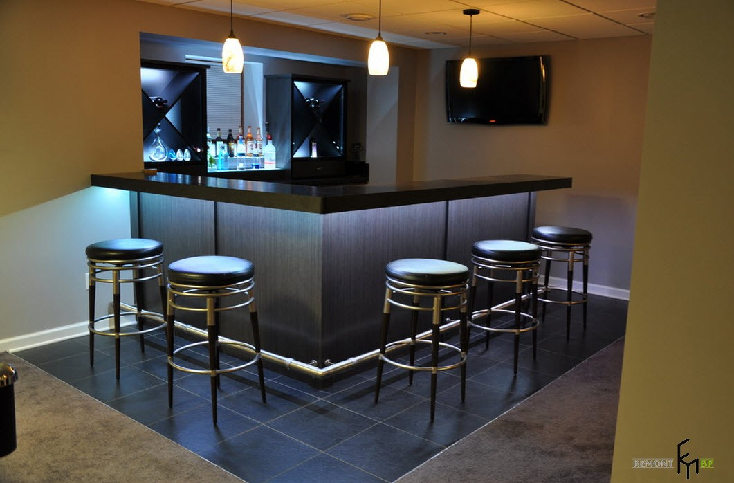 Small basement bar designs ideas