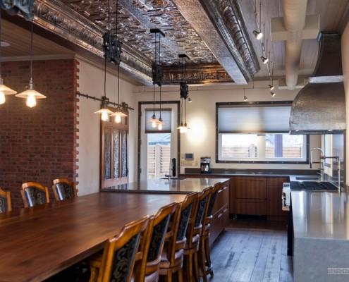 Столы для кухни лофт