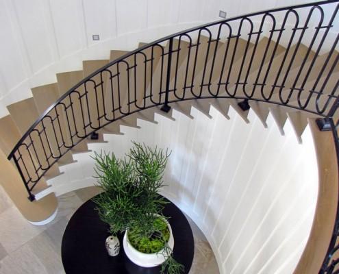 Лестница в доме в морском стиле