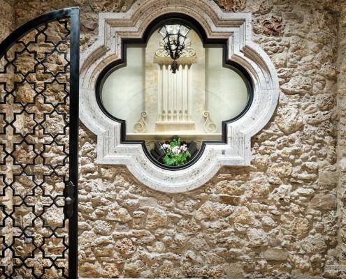 Украшение фасада в марокканском стиле