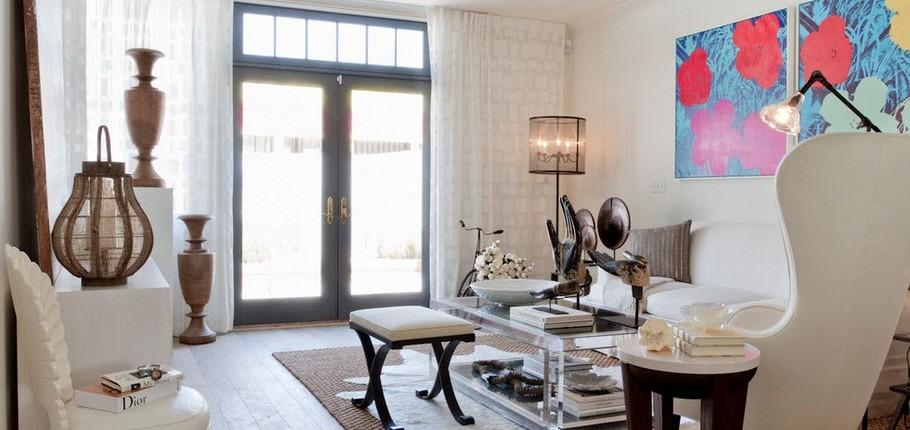 Дизайн гостиной 18 кв