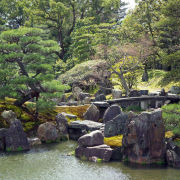 Пейзаж японского сада