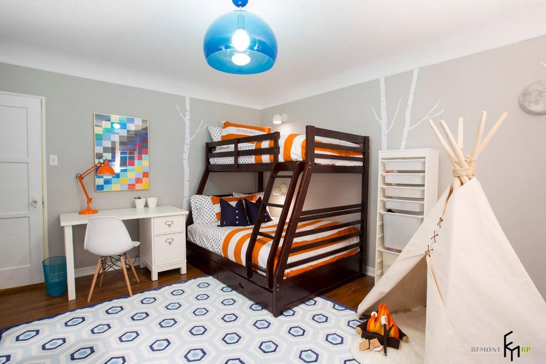 Домик в детской комнате