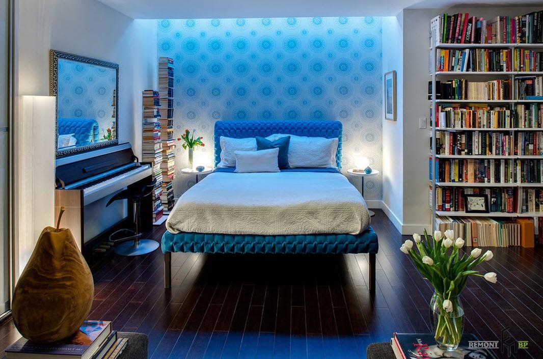 Варианты освещения в спальне
