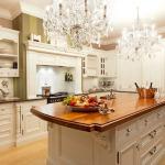 Стильное освещение на кухне: от классики до авангарда