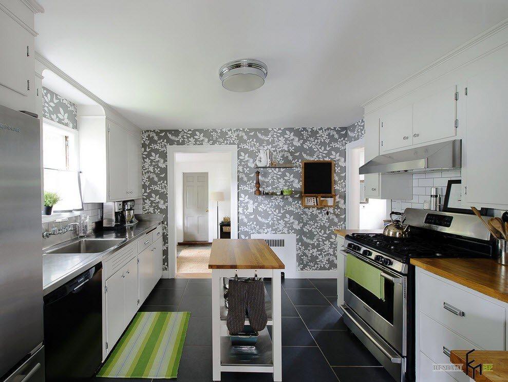 обои на кухню фото дизайн