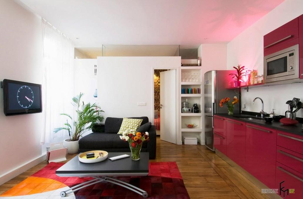 Яркие фасады мебели
