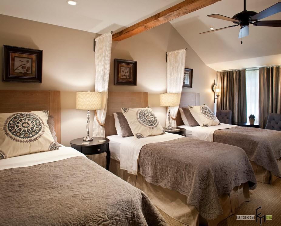 Спальня для троих