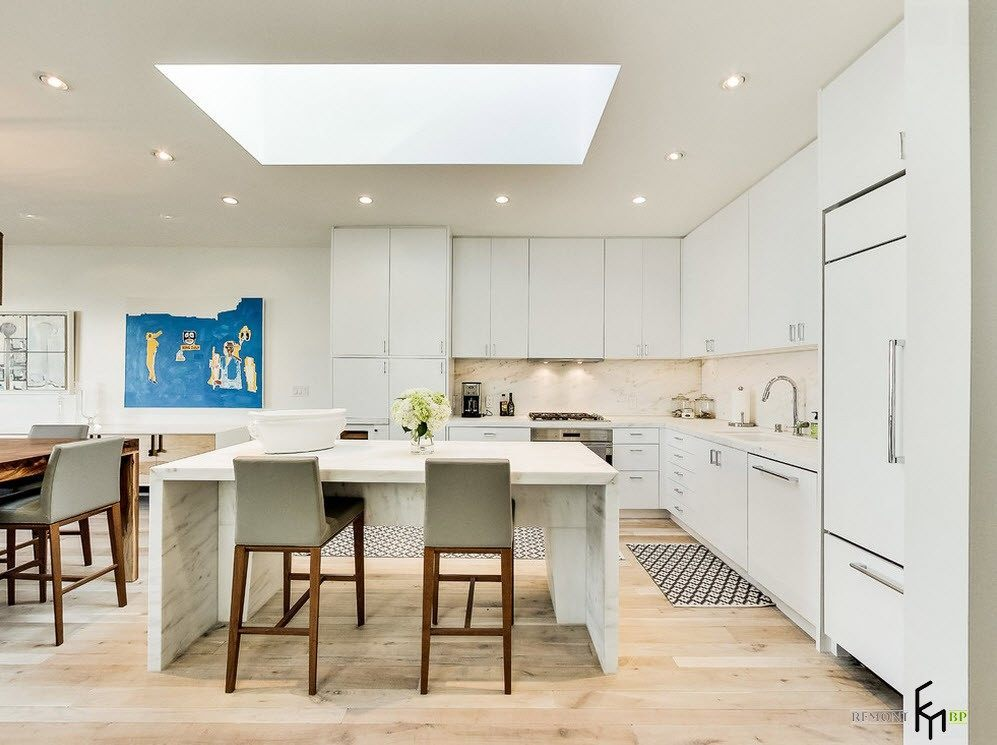 100 лучших идей дизайна большой кухни: красивые интерьеры на фото