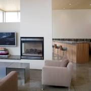 Стильный интерьер студии-кухни