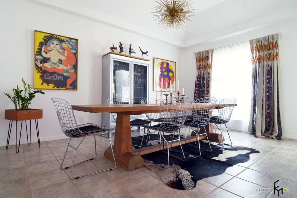 Wire dining room