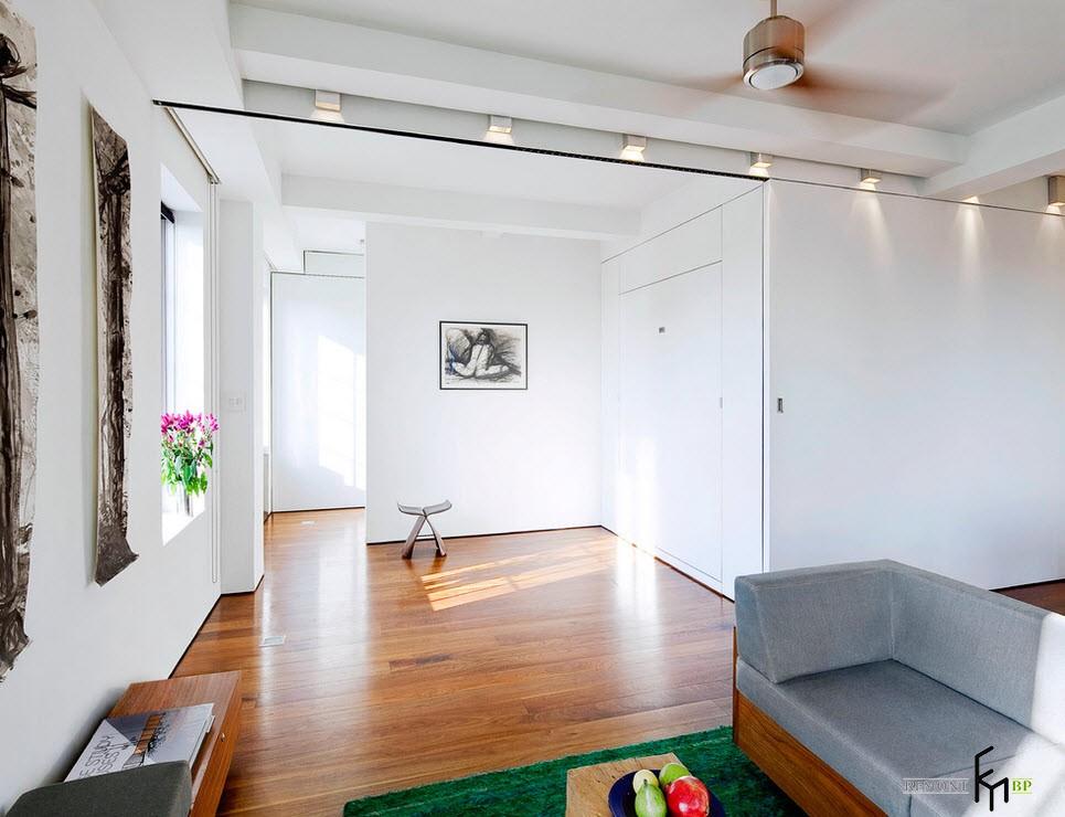 Спальня квартиры-трансформер