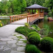 Ландшафтный дизайн в китайском стиле
