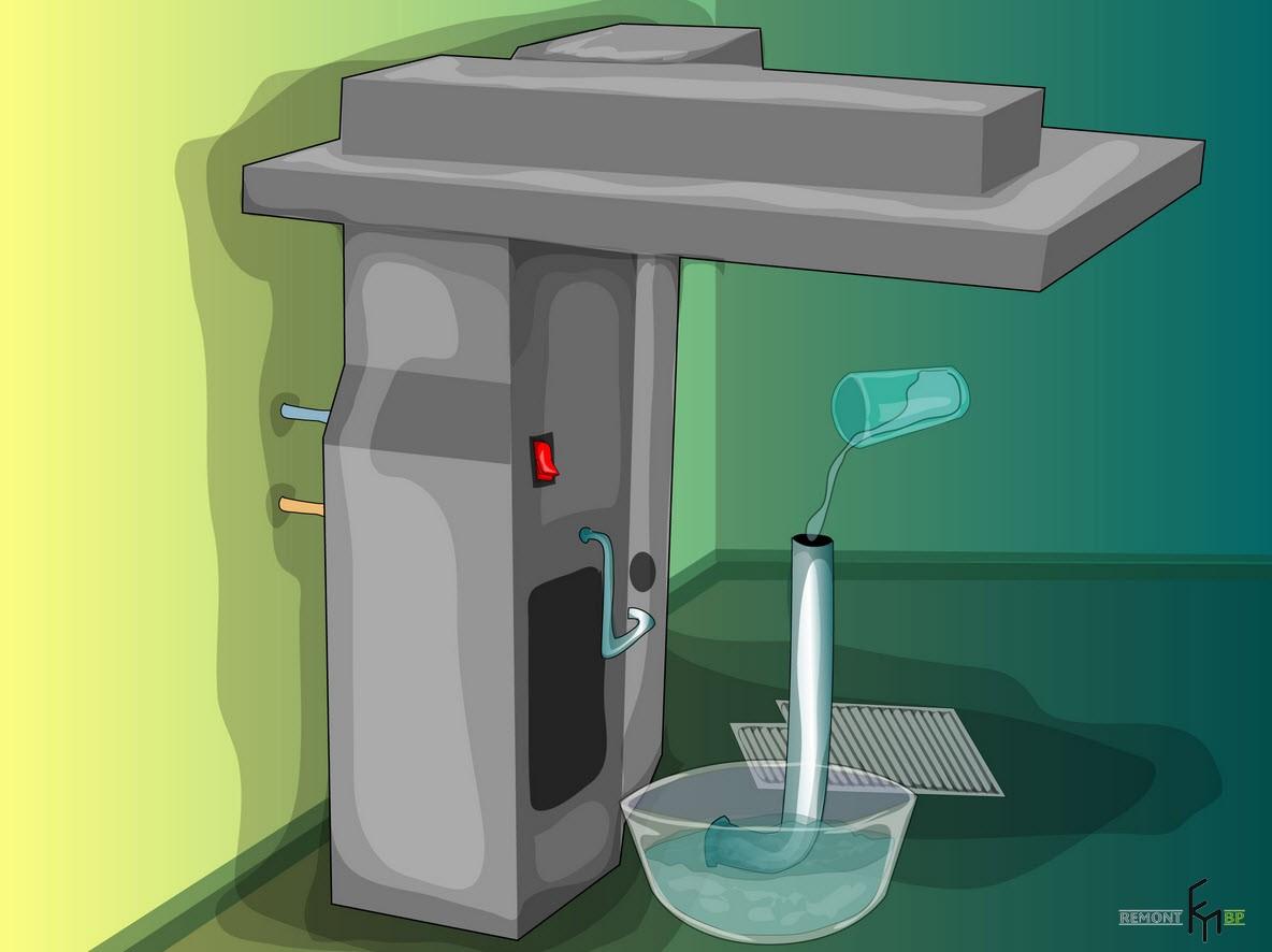 Первый способ чистки кондиционера, четвертый шаг