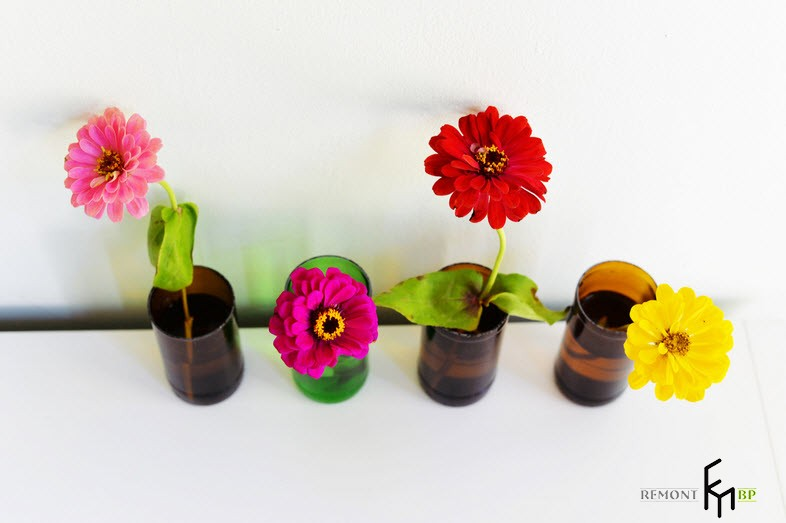 Готовые вазы